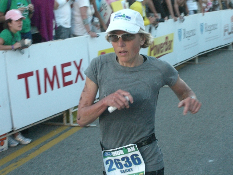 Becky Berry completed her second Ironman