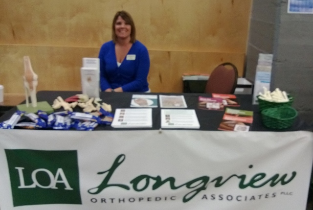 Janelle Johnson of Longview Orthopedic Associates